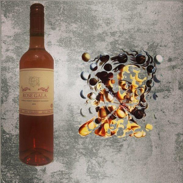 Rose Gala rose wine